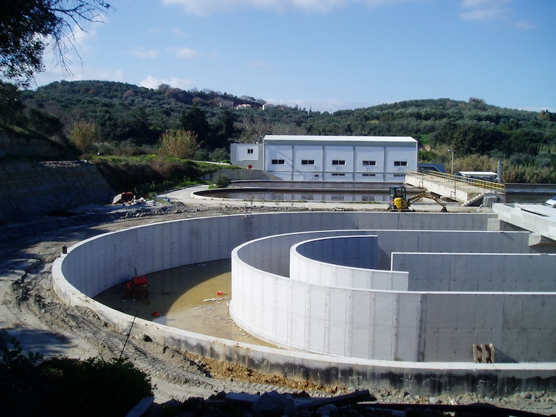 Installation of waste treatment of Kolymbari, Phase B'