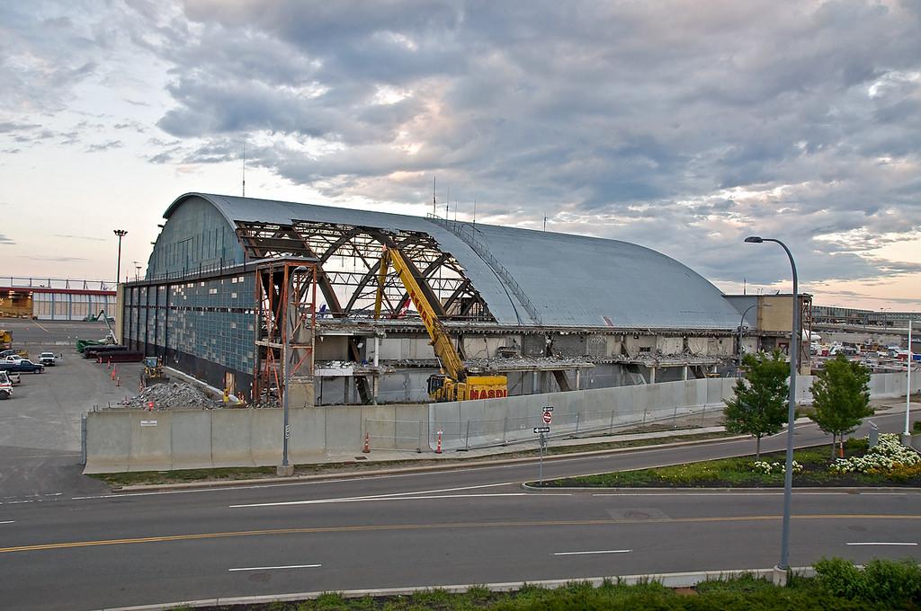 Demolition of a Hangar building