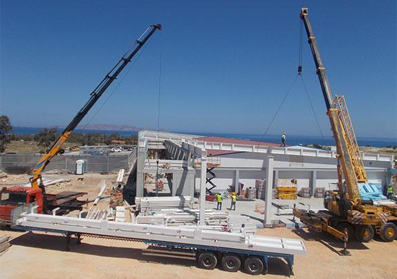 New construction and rehabilitation of existing building Supermarket (Nextmart)