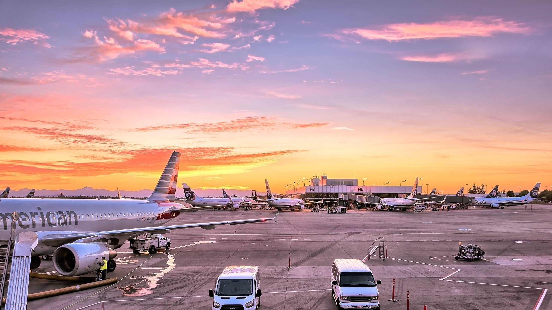 Επισκευές στον τροχόδρομο του αεροδρομίου της Αμερικανικής Βάσης