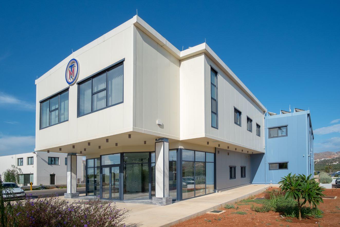 Νέο κτίριο εταιρείας στην Αγία Τριάδα Χανίων